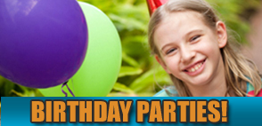 Birthday Parties at Hurricane Alley